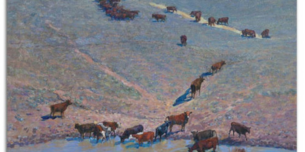 Victor Zhang exhibiting at Greenhill Gallery